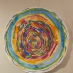 First Hour Grief Art thereapy spiral painting